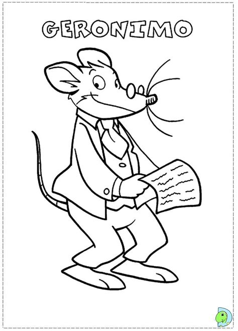 geronimo stilton coloring pages to download and print for free