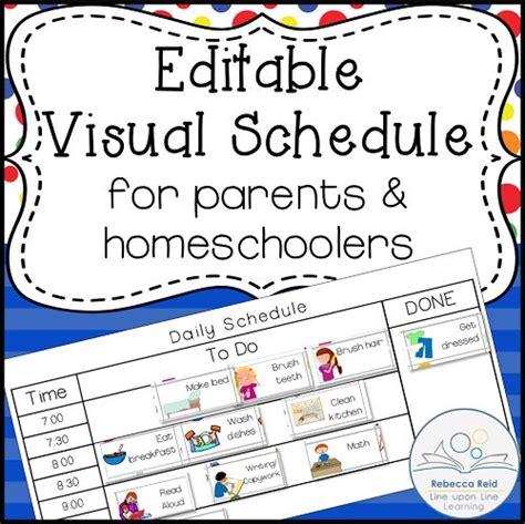 printable kindergarten schedule 17 best ideas about visual schedules on pinterest visual