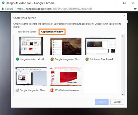 themes for google hangouts how to give a powerpoint presentation through google