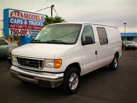 2004 ford econoline 2004 ford econoline cargo information and photos