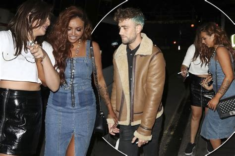 little mix s jesy nelson cosies up to new boyfriend harry