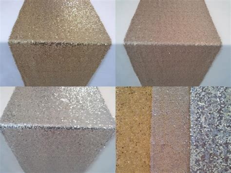 gold silver chagne sequin table runner wedding sparkly