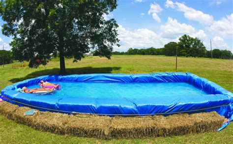 how to build a hay bale swimming pool 7 diy swimming pool ideas and designs from big builds to