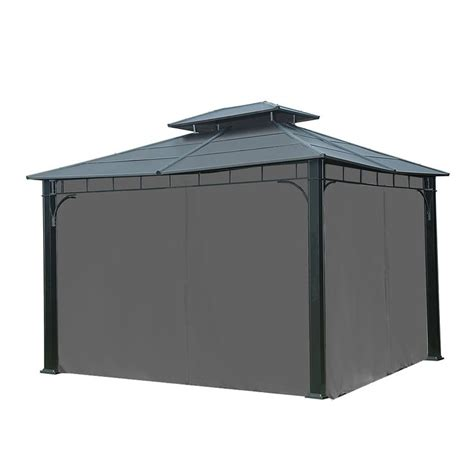 gazebo curtains 10 x 10 universal curtain for 10 ft x 12 ft gazebo curtains and