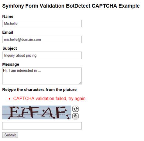 tutorial php form validation form validation with php exle