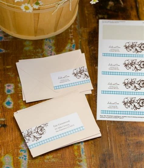 can you print labels for wedding invitations your design wraparound and address labels on