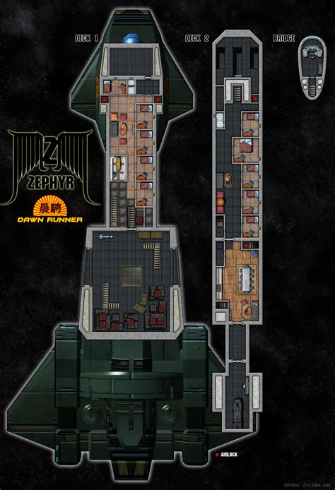 spaceship floor plans zephyr class deck plans by tensen01 deckplans starship