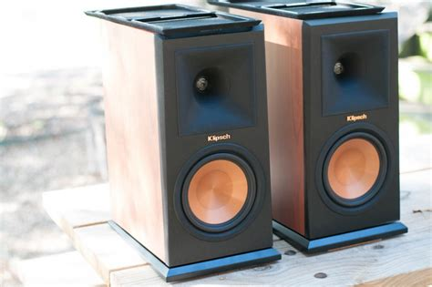 sold klipsch rp 160m bookshelf speakers cherry garage