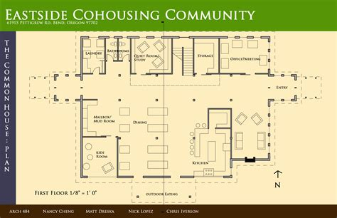 common house floor plans coho the street team