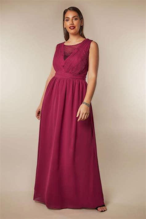 Id 740 Split Mesh Dress chi chi pink amelie maxi dress with diamante mesh