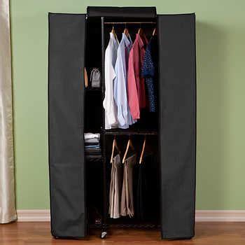 Rack Multifungsi Organizer Zipper Rmoz seville classics garment storage rack with zippered cover
