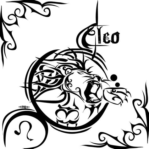tribal zodiac signs tattoos leo tattoos designs ideas and meaning tattoos for you