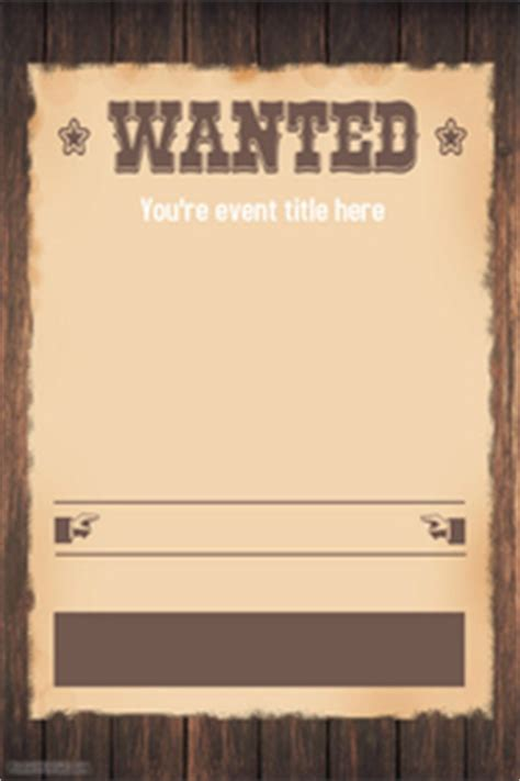 Wanted Poster Templates Postermywall Wanted Poster Template Powerpoint