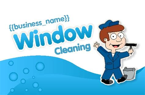 window cleaning business card templates print templates printing uk