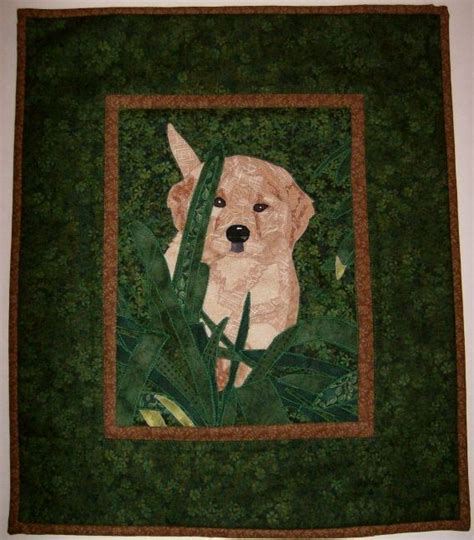 golden retriever applique pattern golden retriever quilt search quilts quilt retriever puppies