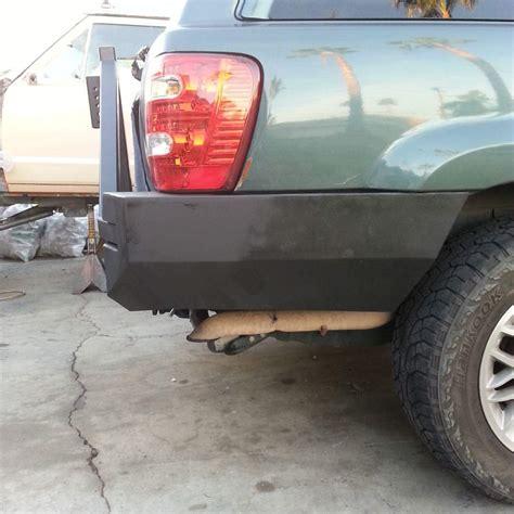 jeep wj rear bumper 99 04 wj grand rear bumper kits gg custom metal fab