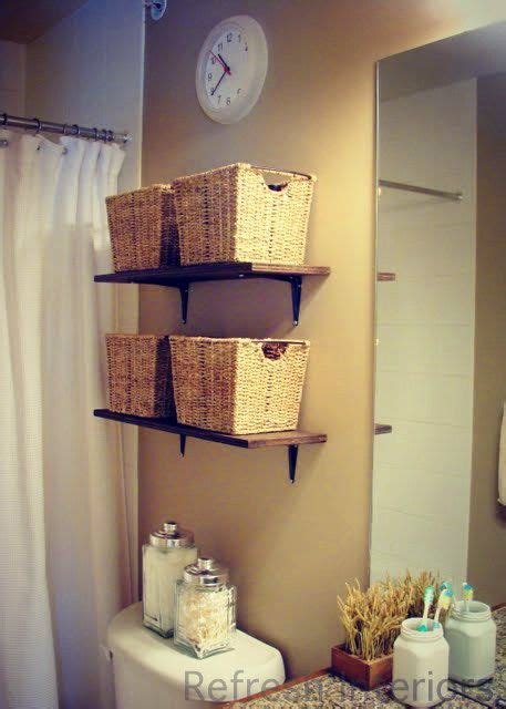 small bathroom storage baskets 17 best ideas about small bathroom shelves on