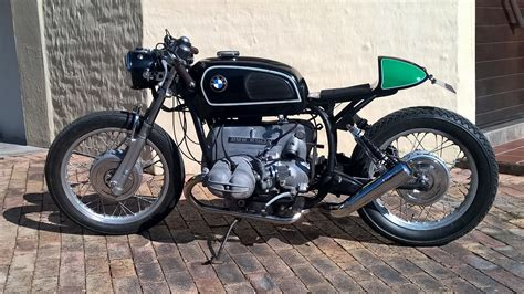 bmw motorcycle cafe racer bmw r50 5 cafe racer bikebound