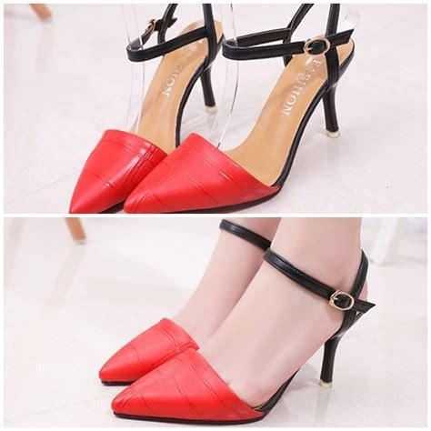 Sepatu Heels Wanita Pesta jual shh116 sepatu heels pesta wanita 8cm
