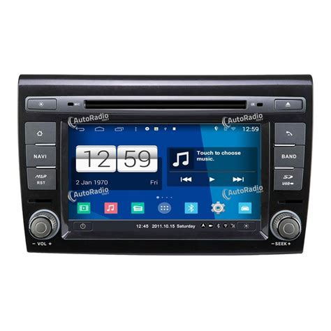 gps android the car dvd gps fiat bravo 2007 2012 at the best price