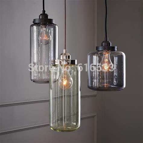 vintage pendant lighting kitchen home interiors vintage loft industrial american lustre glass jar edison
