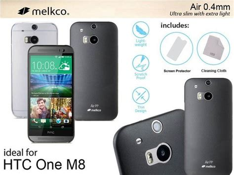 Melkco Air 0 4mm Htc One M8 jual melkco air light 0 4mm for htc one m8 black