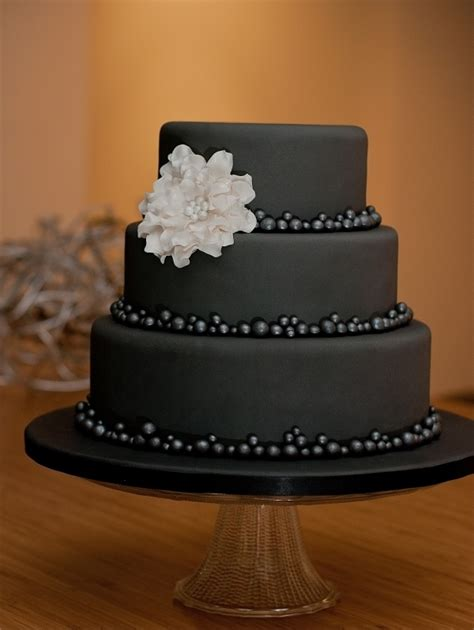 black pattern cake over the hill birthday party or super chic wedding that s