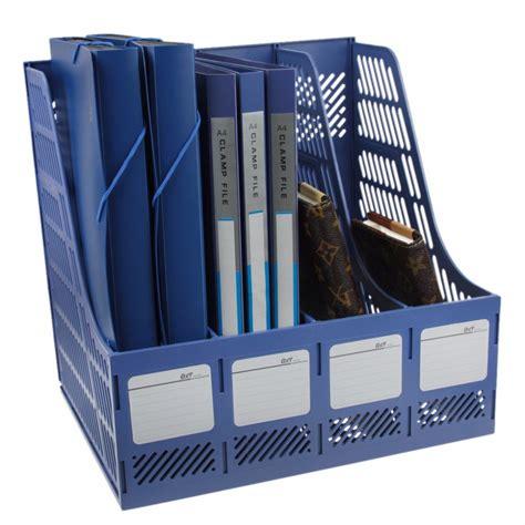 Organizer 2 In 1 Multifunction Box Marun 1 Set Cs office school desktop file folder organizer plastic detachable magazine archives literature file
