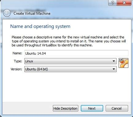 tutorial instal ubuntu dengan virtualbox tutorial install ubuntu 14 dengan virtual box iqbal tc 13 ae