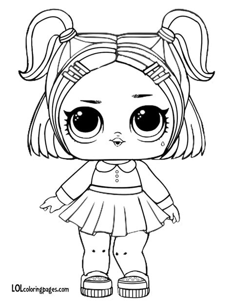 dusk lol doll coloring page lol doll coloring pages