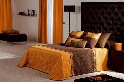 orange and brown bedroom terracotta orange colors and matching interior design