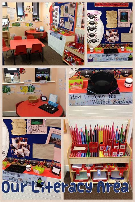 assignment 2 display ideas and layout areas of photo our literacy area early years literacy pinterest