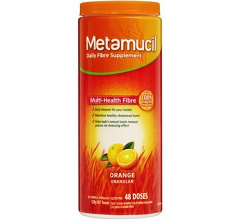 Metamucil Detox by Metamucil 174 Orginal Powder 48 Dose 528g Bowel Chemmart