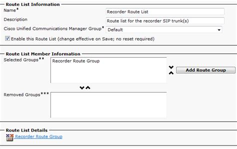 route pattern call classification configuring call routing in cisco ucm for recording
