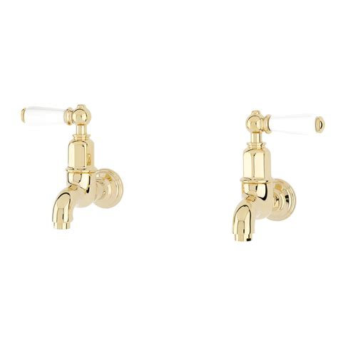 Wall Mounted Kitchen Sink Taps Mayan Wall Mounted Taps With Lever Handles Perrin And Rowe
