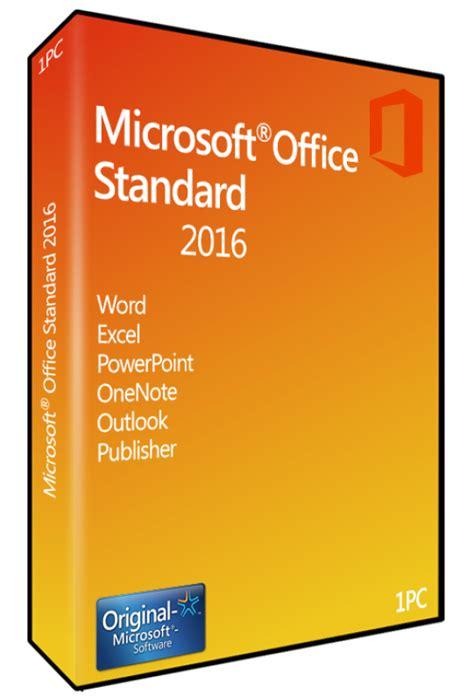 Microsoft Office Standard jual office std 2016 sngl olp nl 021 10554