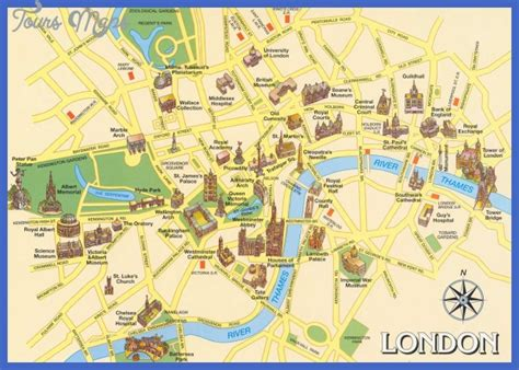 map of and attractions united kingdom map tourist attractions toursmaps