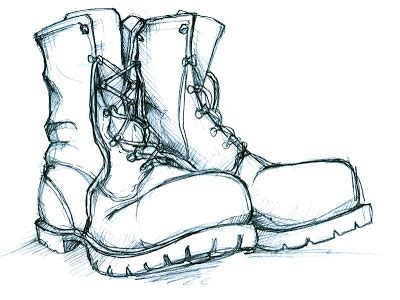 how to draw a military boat michael murdock illustration blog combat boots