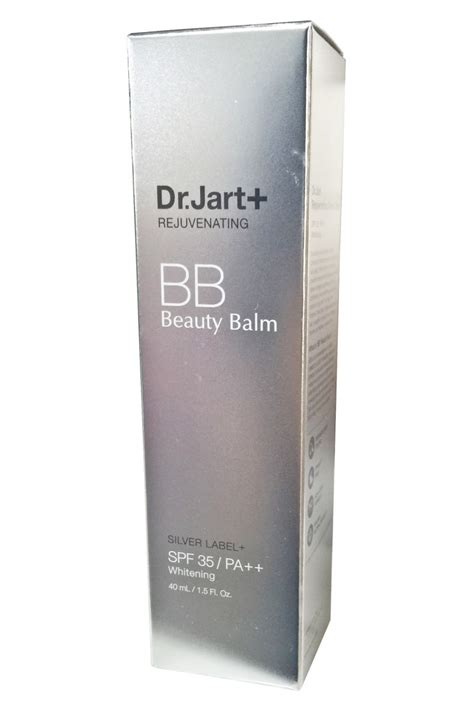 Dr Jart Rejuvenating Balm dr jart rejuvenating bb balm creams silver label