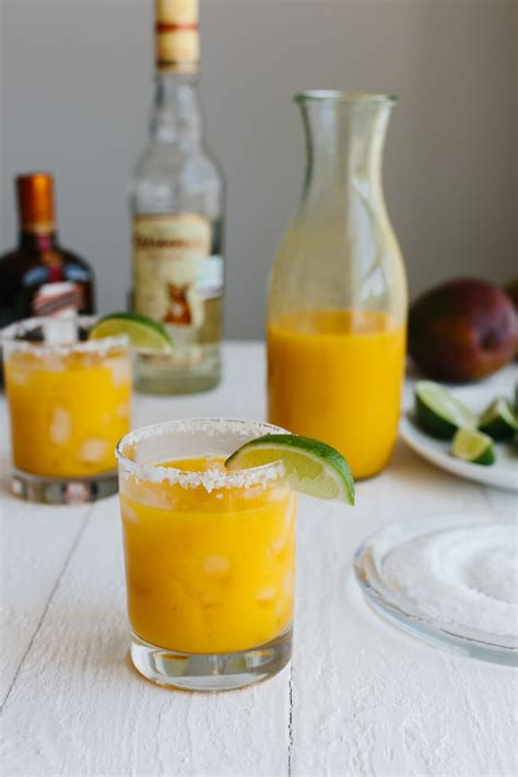 mango margarita rocks mango margarita no sugar added downshiftology