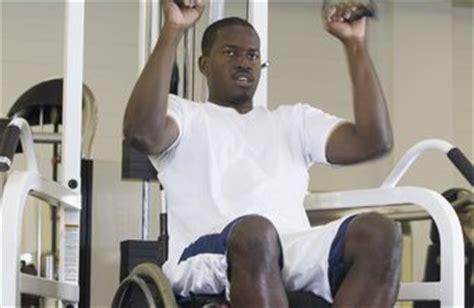 waist stomach exercises for the wheelchair bound chron