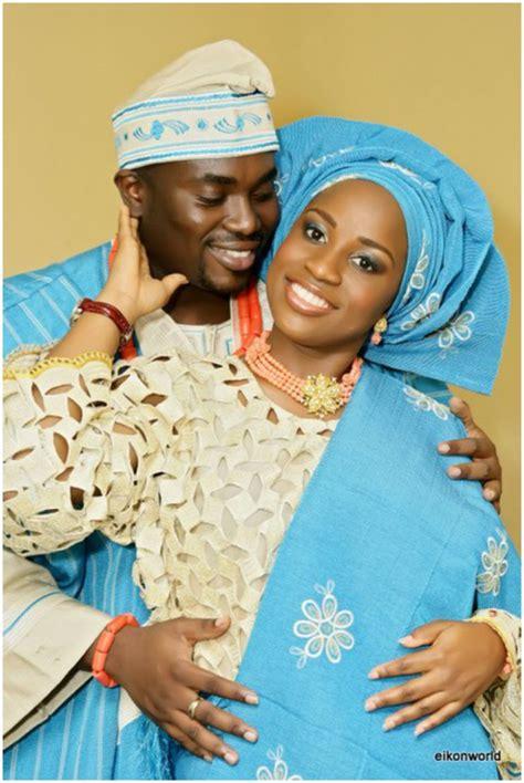 peach navy blue nigerian traditional nigerian wedding fashion lipstick alley