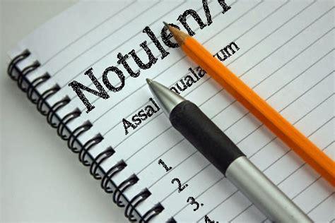 Notulen Rapat Dinas Sekolah by Padamu Kepala Sekolah Template Notulen Rapat