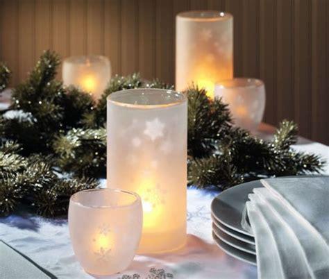 centrotavola natalizi con candele www donnaclick it