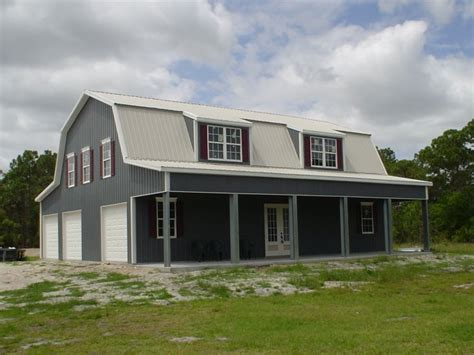 gambrel steel home kit 3500 sq ft