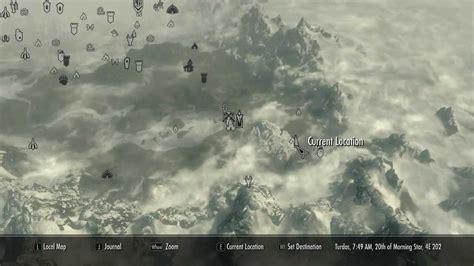 pin skyrim treasure map 3 chest location on pinterest
