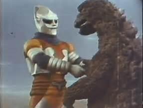 Godzilla And Jet Jaguar Godzilla Vs Megalon 1973