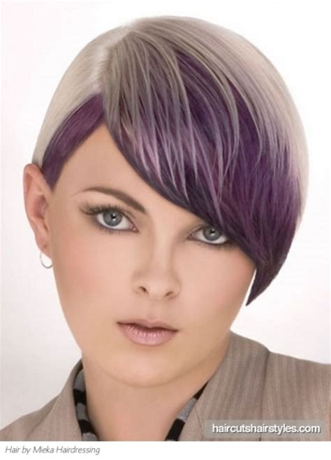 foil placement for purple bangs 1000 images about for the love of purple hair on