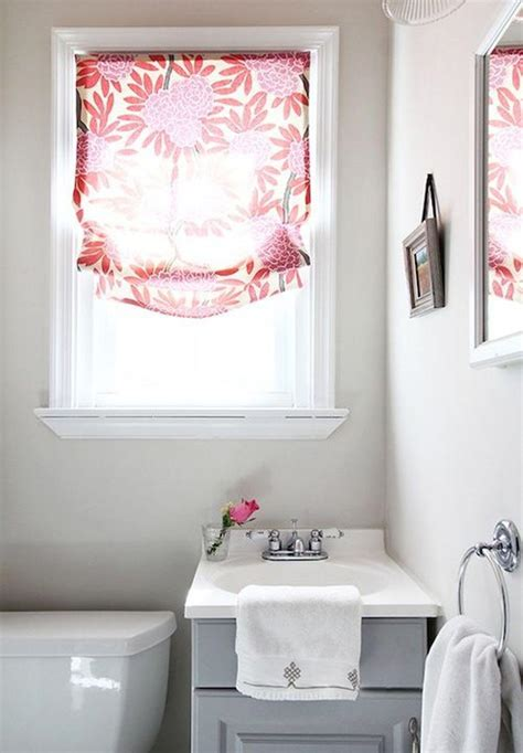 small bathroom window curtain window treatments design ideas