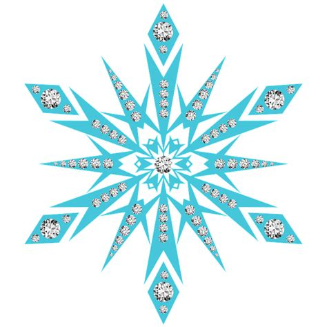snowflake clipart snow flake snowflake diamonds 183 free image on pixabay